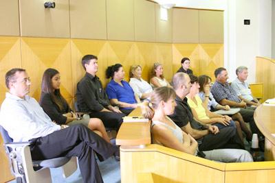 Jury Sitting