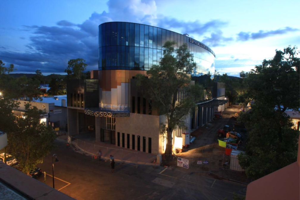 The new Alice Springs Supreme Court building
