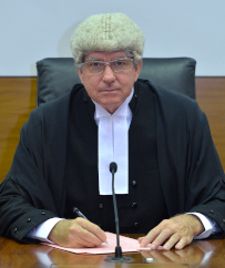 The Honourable Chief Justice Michael Grant