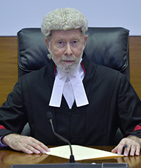 The Honourable Justice Peter Barr