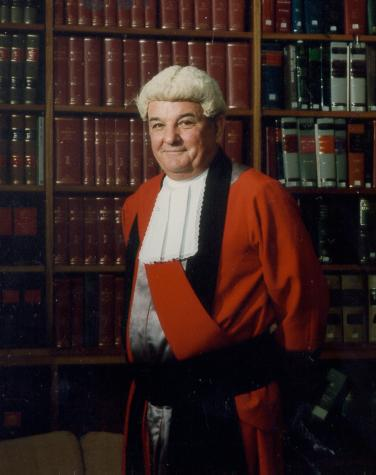 The Honourable Brian Frank Martin